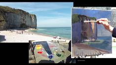 José SALVAGGIO plein air painting 34 Day in Normandy - YouTube
