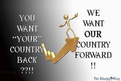 We won't go back!