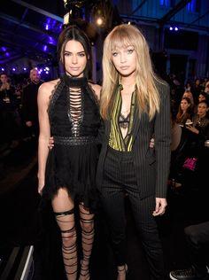 Gigi Hadid and Kendall Jenner=SLAYING