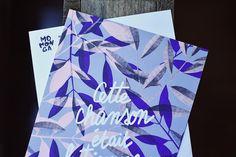 """""""Cette chanson"""" - Illustration de novembre réalisée par Elise (@atelierhirundo). Pour en savoir plus sur notre très chouette illustratrice rendez-vous sur notre site (lien dans la bio)   #MomongaMoment #sendlove #artiste #print #postcards #artbox #november #illustration"""