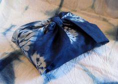 Indigo shibori furoshiki by sfennell on Etsy, $33.95