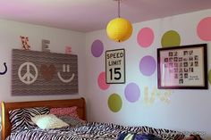 Zebra Themed Teen Room ~ * THE COUNTRY CHIC COTTAGE (DIY, Home Decor, Crafts, Farmhouse)