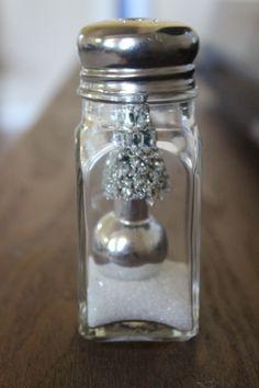 Salt Shaker Snow Globe #anthrofaves