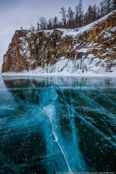 Situated in south-east Siberia, the 3.15-million-ha Lake Baikal is the oldest (25 million years) and deepest (1,700 m) lake in the world. It contains 20% of the world's total unfrozen freshwater reserve. (from Wikipedia)