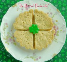 Irish Shortbread is ideal when you're looking for easy St. Patrick'sDay food. Irish desserts couldn't be simpler.
