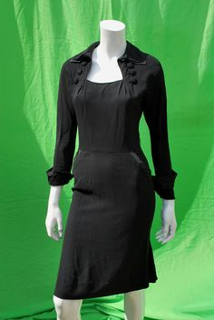 Vintage 40's pin up cha cha dress bomshell marylin by thekaliman, $275.00