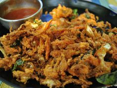 Pakora, Kuchnia indyjska Foto: D. Jaworska