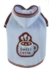Sweet Cocoa Hoodie In Blue - Apparel - Hoodies & Sweatshirts Posh Puppy…