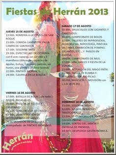 15-18 de Agosto. Fiestas patronales de Herran. Las Merindades