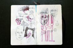 Sketchbook: Moleskine - Kenn Goodall / Art & Illustration