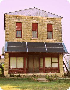 Store of stone  Dwight, Kansas.