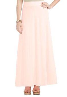 Cato Fashions Knit Jersey Maxi Skirt #CatoFashions
