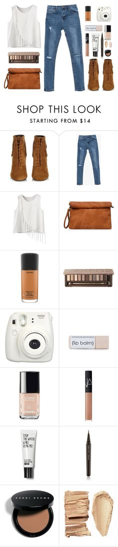 """Wild Western"" by for-the-love-of-pink on Polyvore featuring Yves Saint Laurent, MAC Cosmetics, Urban Decay, Chanel, NARS Cosmetics, Marc Jacobs and Bobbi Brown Cosmetics"