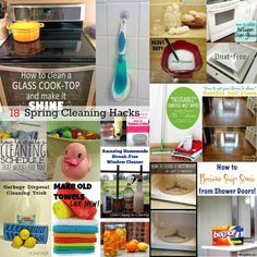 18 Spring Cleaning Hacks