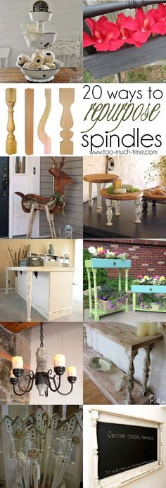 20 ways to repurpose, upcycle, and reuse railing and chair spindles