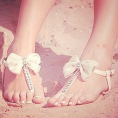 59 Gorgeous Summer Wedding Shoes And Sandals Bow Sandals, Cute Sandals, Bow Flats, Pretty Sandals, Sparkly Sandals, Rhinestone Sandals, Pretty Shoes, Gladiator Sandals, Rhinestone Bow