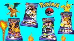 Pokemon EVOLUTIONS Booster Packs card game Opening  Surprises Cards #pokemon #pokemoncards #pokemongame #pokemonevolution
