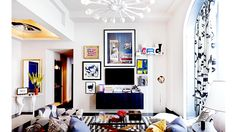 PROJECT URBANE BACHELOR PAD Robert Passal transforms a white box into a fanciful gentleman's lair @Domaine