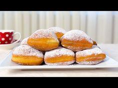 Beignets - Gogosi frantuzesti - JamilaCuisine - YouTube Romanian Desserts, Romanian Food, Romanian Recipes, Sweets Recipes, Baby Food Recipes, Cooking Recipes, Food Baby, Beignets, Confort Food