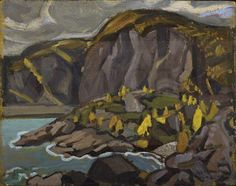 Arthur Lismer Nationality: Canadian Artist Dates: 1885 - 1969 Gender: male Title: Lake Superior Shoreline Object Dates: 1928
