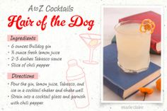 Hair of the Dog Drink Recipe