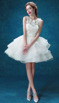 New Wedding Dress Bridal gown lace any size custom 2 4 6 8 10 12 14 ballet tulle