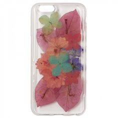 Encapsulated floral iPhone 5 case