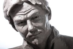 View the creative process in action. Sculpting demo by South African sculptor, James Cook. The sculpture is made from chavant clay and depicts a life-sized F. James Cook, Clay Faces, Sculpting, Sculptures, Statue, Portrait, Figurative, Muse, Joy