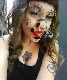 Floating Nomad - 💯🔥😍 The Effective Pictures We Offer You About Piercing boca A quality picture can tell yo - Stretched Septum, Corset, Pop Art, Facial Piercings, Design Your Dream House, Punk, Belly Button Piercing, Body Modifications, Body Mods