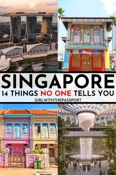 Traveling to Singapore for the first time and have no idea what to expect? Then check out this post! It's filled with 14 secret, insider tricks and tips that will help you see Singapore like a local…More Singapore Guide, Singapore Travel Tips, Singapore Itinerary, Visit Singapore, Travel Advice, Travel Guides, Asia Travel, Hawaii Travel, Croatia Travel