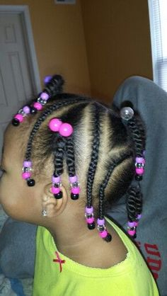 Curly short hair styles always look adorable on little girls. As a result, we see many young girls sport curls. And since children do not take much care of Lil Girl Hairstyles, Natural Hairstyles For Kids, Kids Braided Hairstyles, Princess Hairstyles, Natural Hair Styles, Short Hair Styles, Toddler Hairstyles, Little Girl Braids, Braids For Kids