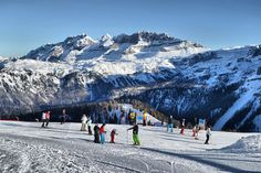 Skiing in Pinzolo, one of the best winter holiday destinations