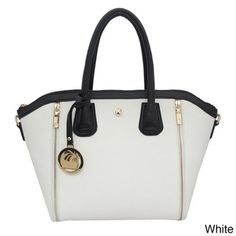 $42.00 on Overstock. Somes in many other colors. -  15.5 inches high x 11 inches long x 4.75 inches wide Cleopatra Kelly Expandable Tote Bag with Zipper Detail | Overstock.com Shopping - Great Deals on Tote Bags