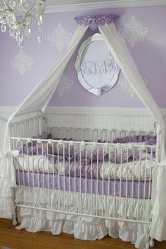 Averys 50 Shades of Purple Nursery
