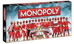 Amazon.com: Power Rangers Monopoly Board Game: Toys & Games