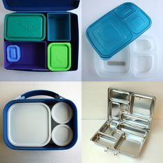 See how EasyLunchboxes compares to a few other choices - Choosing a Bento Box: Lunch Box Systems.
