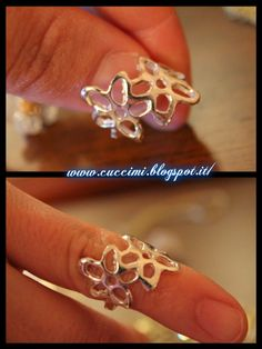 Creative Floral Ring Hollow Fashion Ring 12348