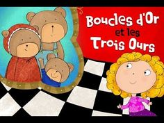 Goldilocks and the Three Bears Bedtime Story - Kids Book Read Aloud French Teaching Resources, Teaching French, Drama Education, Listen To Reading, Goldilocks And The Three Bears, French Songs, Classroom Board, Core French, Bear Theme