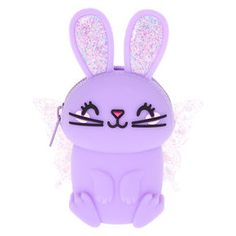 Claire's Bella the Bunny Jelly Coin Purse - Lilac Purple Kids Outfits Girls, Girls Bags, Toys For Girls, Not Your Baby, Cute Wallets, Girls Jewelry, Custom Tumblers, Girls Accessories, School Supplies