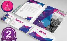 design business card,letterhead and stationery