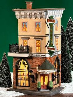 Foster Pharmacy NEW Department Dept. 56 Christmas In The City Village CIC