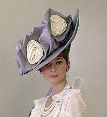hats audrey hepburn my fair lady - Google Search