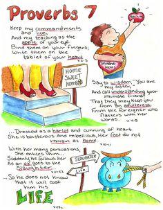 Doodle Through The Bible: Proverbs 7
