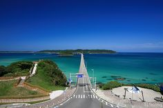:Japan The island located in Yamaguchi Prefecture. The emerald green sea and white sands are beautiful, and are used also as. Beautiful Roads, Beautiful Images, Beautiful Scenery, Mountainous Terrain, Yamaguchi, Travel And Tourism, Key West, Japan Travel, Trip Advisor