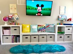55 Clever Kids Bedroom Organization and Tips Ideas Oriel D. Playroom Organization Bedroom Clever Ideas Kids Organization Oriel Tips Playroom Design, Playroom Decor, Bedroom Decor, Baby Playroom, Playroom Paint Colors, Family Room Playroom, Loft Playroom, Children Playroom, Kids Decor