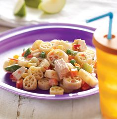 A lighter, well-balanced alternative to mac 'n cheese, this salad incorporates homemade ranch dressing and pasta shapes kids will love.