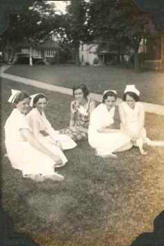 The old Hershey Manor Hospital & the nurses' quarters.