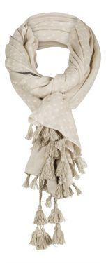 2015 Sandwich Fringe and Tassel Scarf £32.00 (inc VAT)  New Spring '15 Tassle and Fringe Scarf from Sandwich Clothing.  http://www.melburygallery.co.uk/shop/scarves/2015-sandwich-fringe-and-tassel-scarf.htm