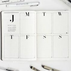 40 Mind blowing Minimilist Bullet Journal Spreads | My Inner Creative