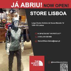 Já abriu! The North Face Store Lisboa! Venha visitar-nos! #thenorthface #neverstopexploring #lisboa #portugal #caminhada #trekking #running #alpinismo #montanhismo